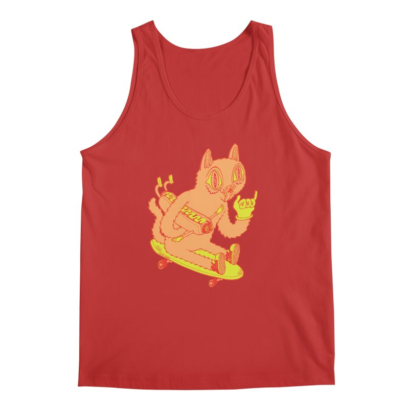 Hot Doggin' Men's Tank by Tripperdungan's Artist Shop
