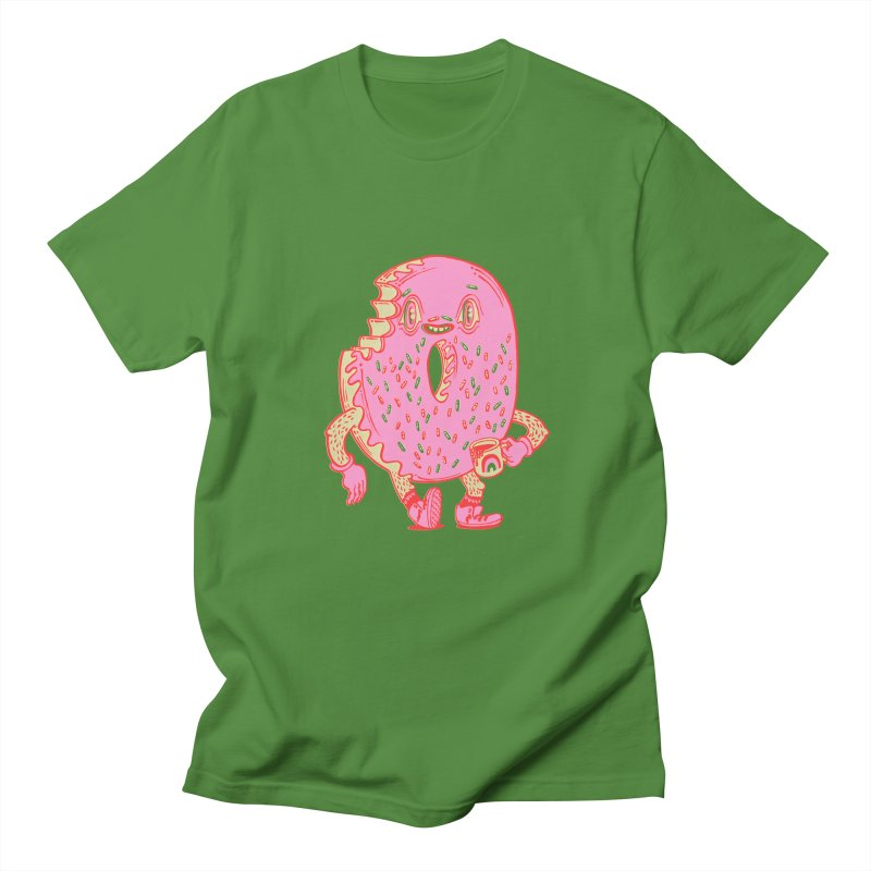 Donut's Favorite Rainbow Mug Women's Regular Unisex T-Shirt by Tripperdungan's Artist Shop
