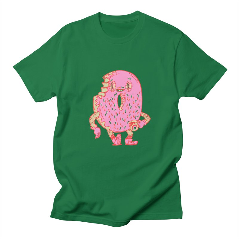 Donut's Favorite Rainbow Mug Women's Regular Unisex T-Shirt by Tripper Dungan's Artist Shop