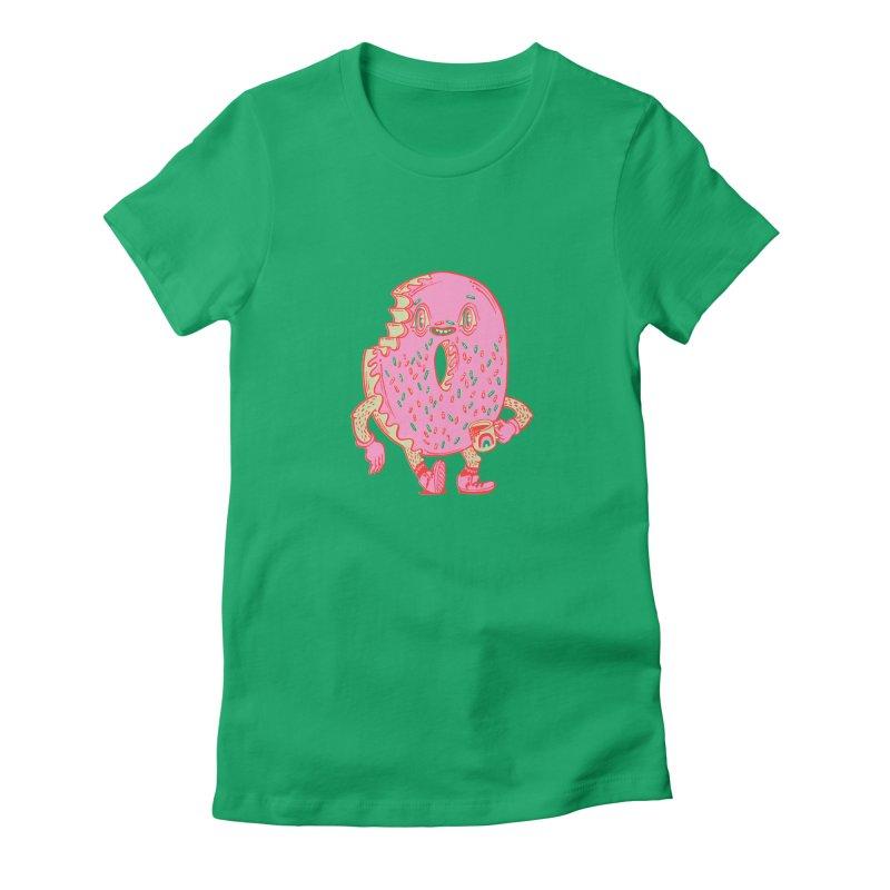 Donut's Favorite Rainbow Mug Women's T-Shirt by Tripperdungan's Artist Shop