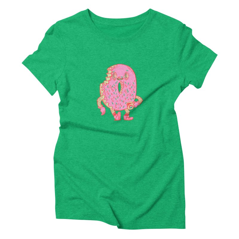 Donut's Favorite Rainbow Mug Women's T-Shirt by Tripper Dungan's Artist Shop