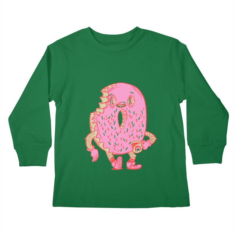 Donut's Favorite Rainbow Mug Kids Longsleeve T-Shirt by Tripperdungan's Artist Shop