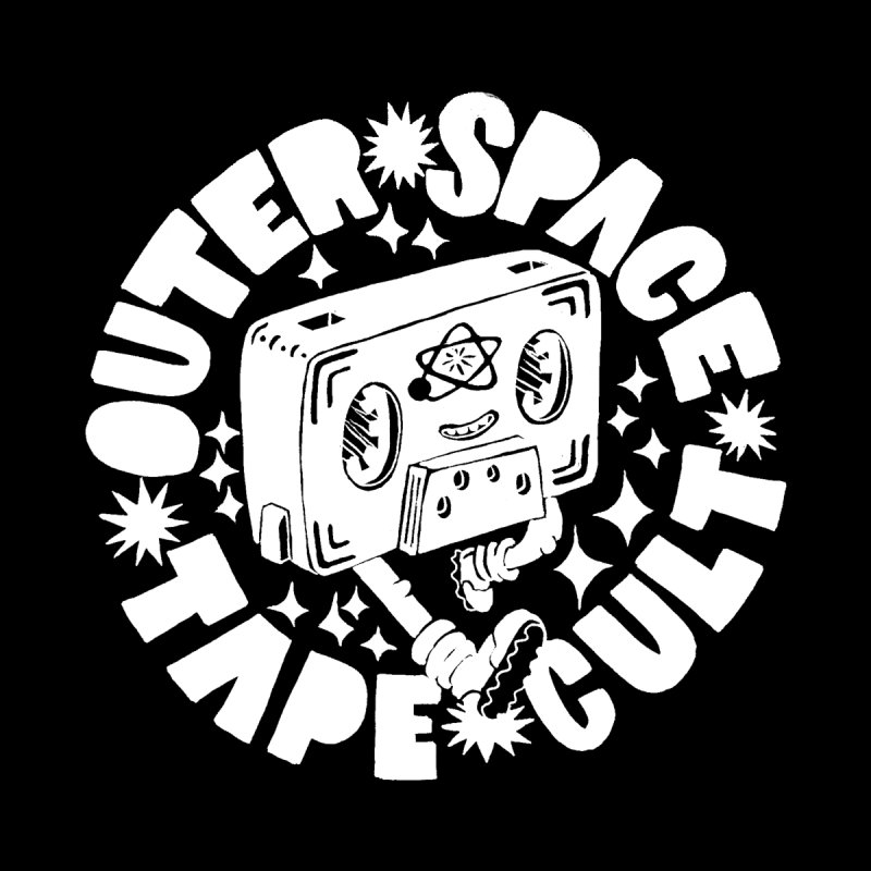 Outer Space Tape Cult by Tripper Dungan's Artist Shop