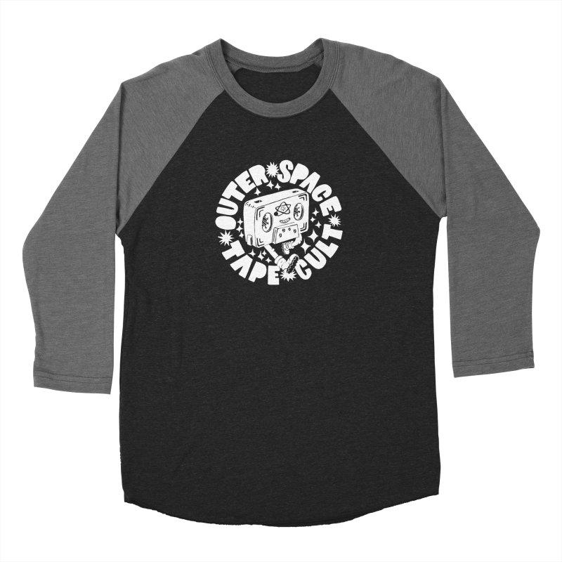 Outer Space Tape Cult Men's Baseball Triblend Longsleeve T-Shirt by Tripper Dungan's Artist Shop