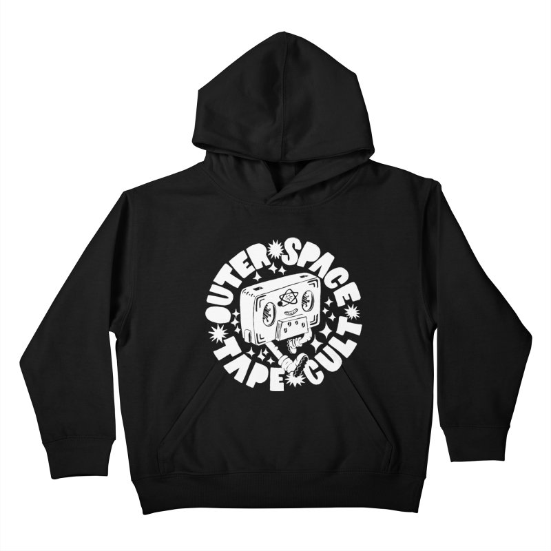 Outer Space Tape Cult Kids Pullover Hoody by Tripperdungan's Artist Shop