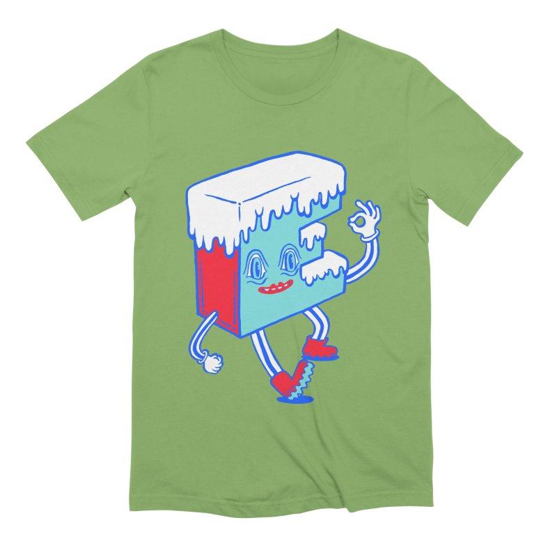 Ice E Men's Extra Soft T-Shirt by Tripper Dungan's Artist Shop