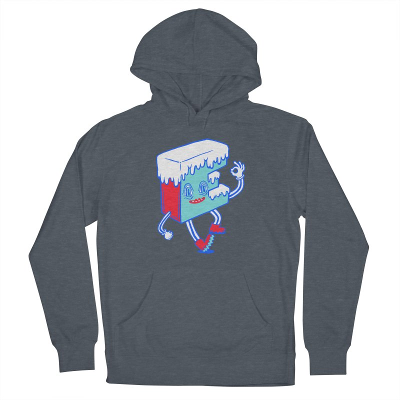 Ice E Women's French Terry Pullover Hoody by Tripper Dungan's Artist Shop