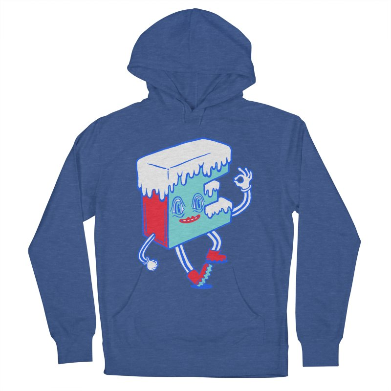 Ice E Men's French Terry Pullover Hoody by Tripperdungan's Artist Shop