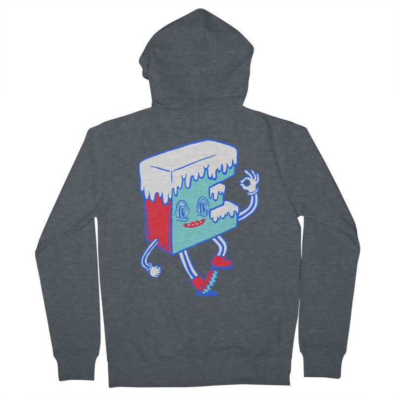 Ice E Men's French Terry Zip-Up Hoody by Tripperdungan's Artist Shop