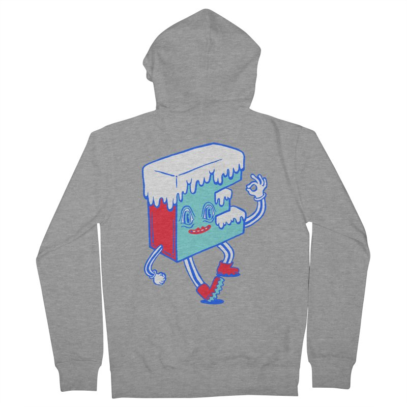 Ice E Men's French Terry Zip-Up Hoody by Tripper Dungan's Artist Shop
