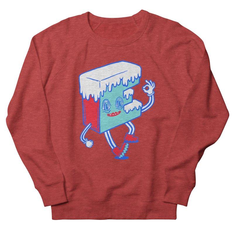Ice E Women's French Terry Sweatshirt by Tripper Dungan's Artist Shop