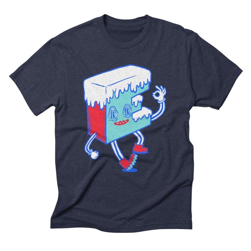 Ice E Men's Triblend T-Shirt by Tripper Dungan's Artist Shop