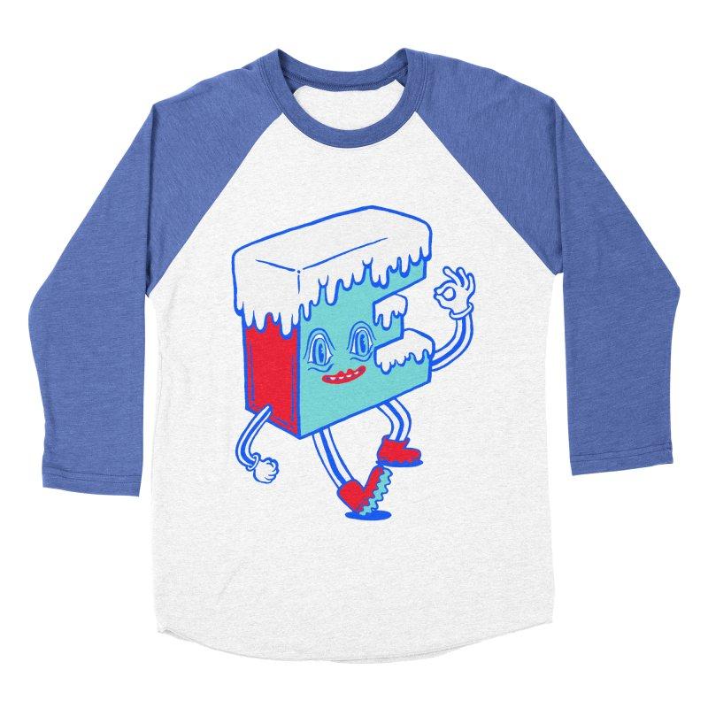Ice E Men's Baseball Triblend Longsleeve T-Shirt by Tripper Dungan's Artist Shop