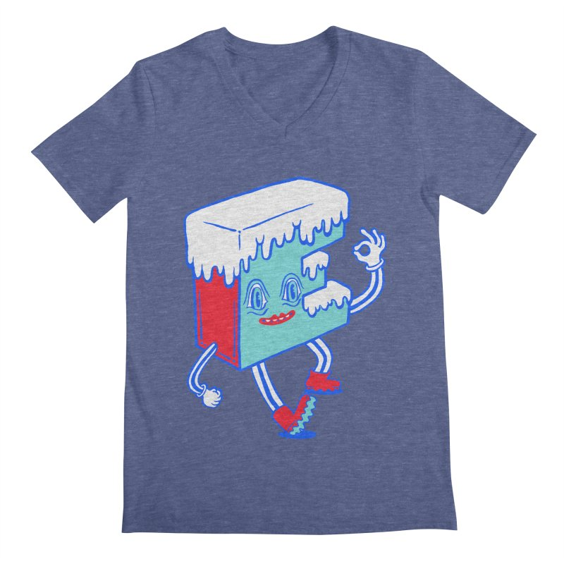 Ice E Men's Regular V-Neck by Tripperdungan's Artist Shop