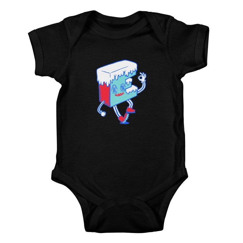 Ice E Kids Baby Bodysuit by Tripper Dungan's Artist Shop