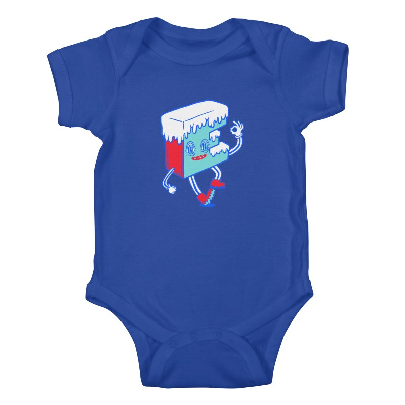 Ice E Kids Baby Bodysuit by Tripper Dungan's Artist Shop