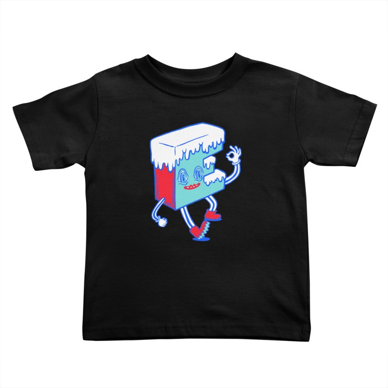 Ice E Kids Toddler T-Shirt by Tripper Dungan's Artist Shop