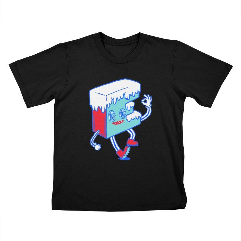 Ice E Kids T-Shirt by Tripper Dungan's Artist Shop