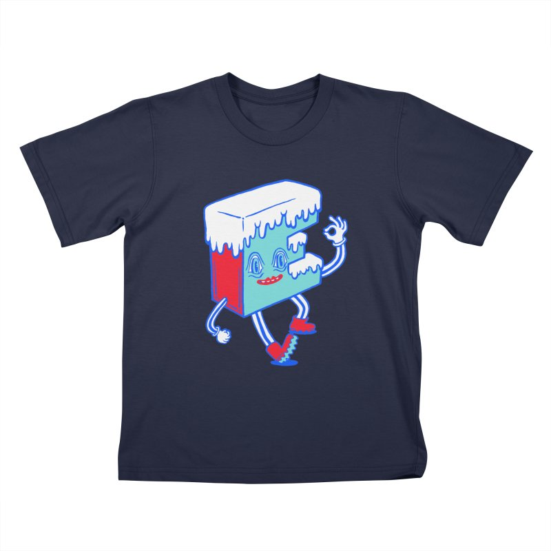 Ice E Kids T-Shirt by Tripper Dungan's Artist Shop