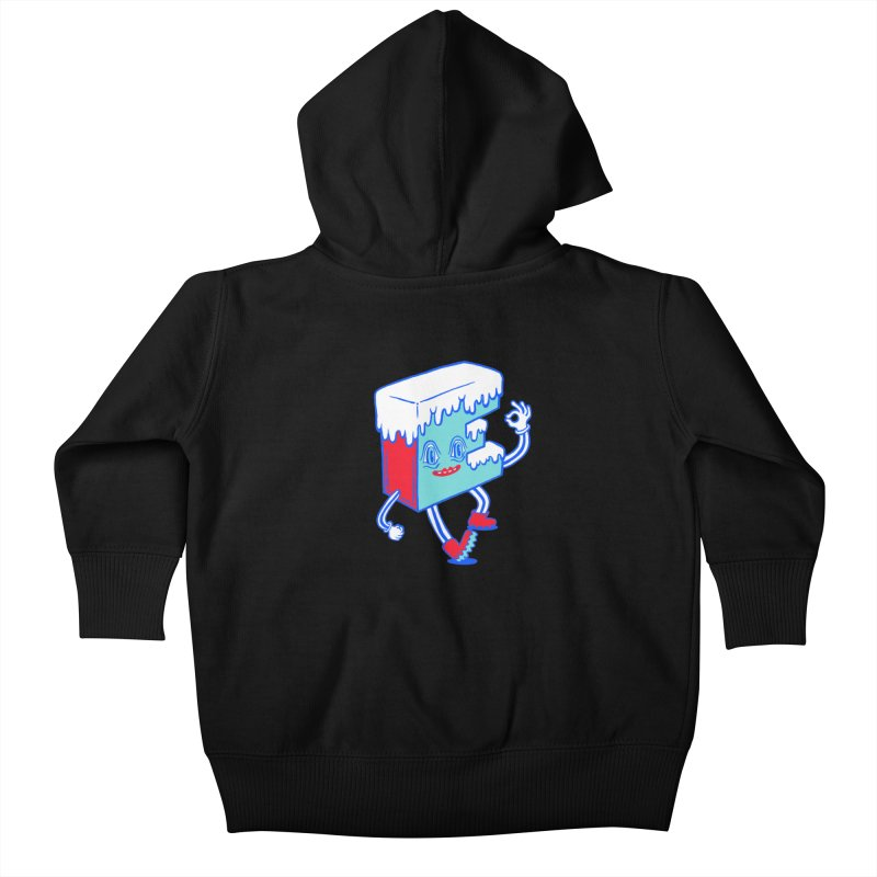 Ice E Kids Baby Zip-Up Hoody by Tripper Dungan's Artist Shop