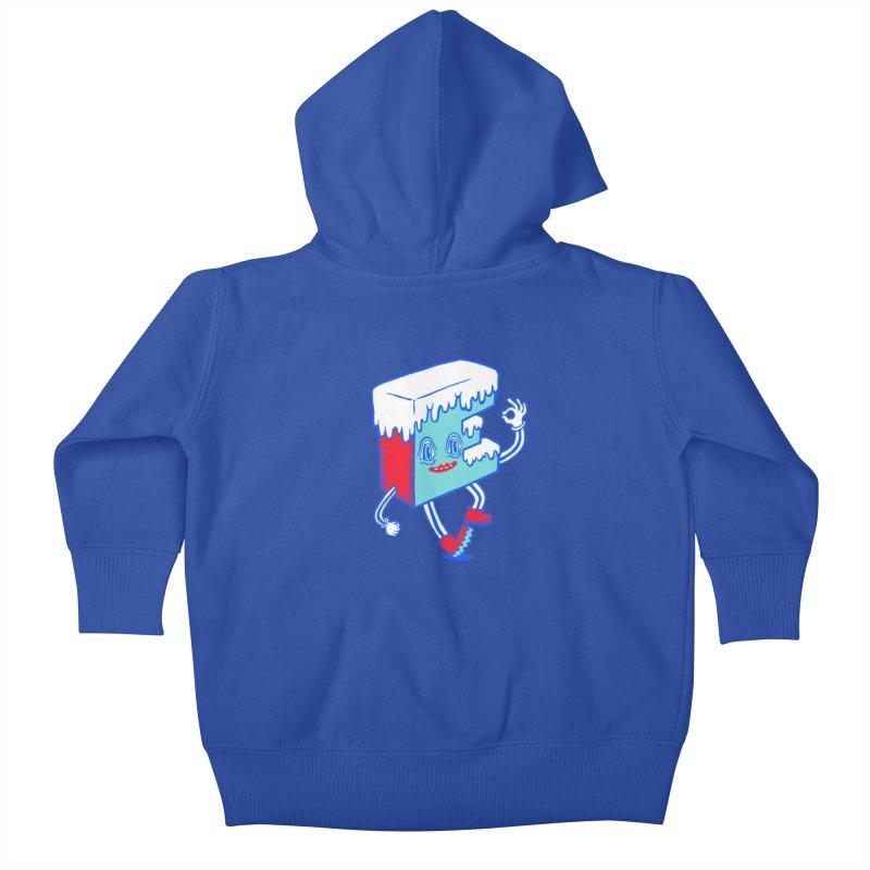 Ice E Kids Baby Zip-Up Hoody by Tripper Dungan's Artist Shop