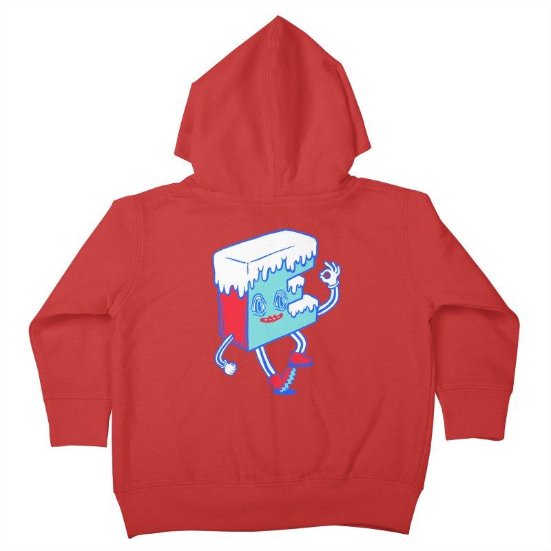 Ice E Kids Toddler Zip-Up Hoody by Tripper Dungan's Artist Shop