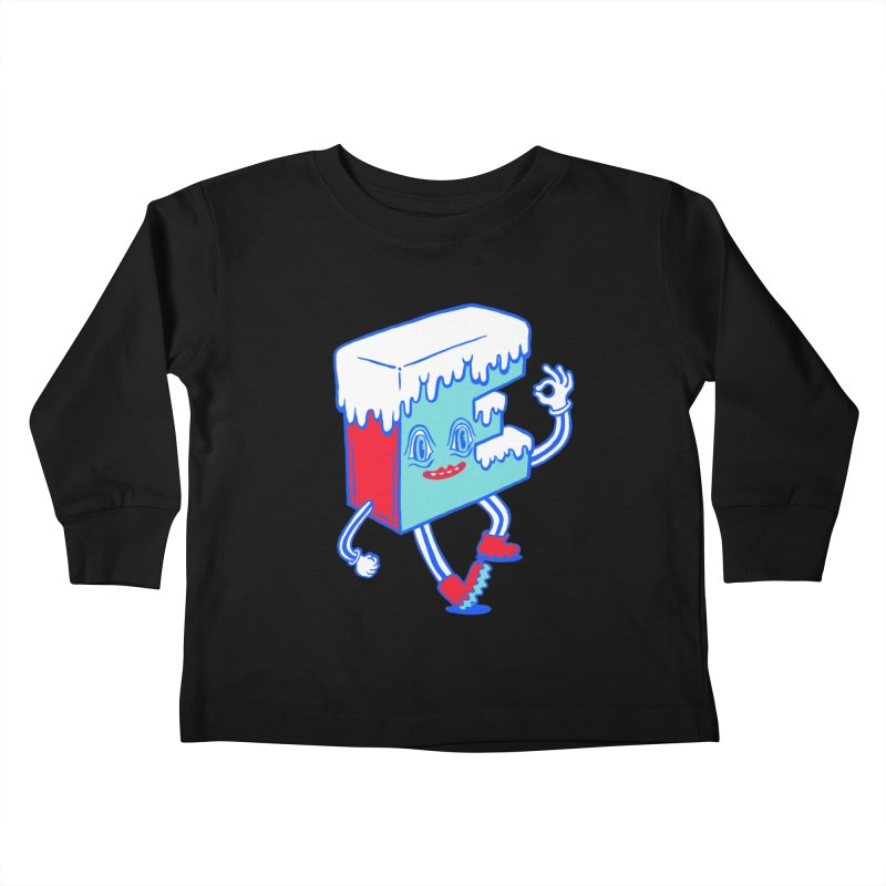 Ice E Kids Toddler Longsleeve T-Shirt by Tripperdungan's Artist Shop