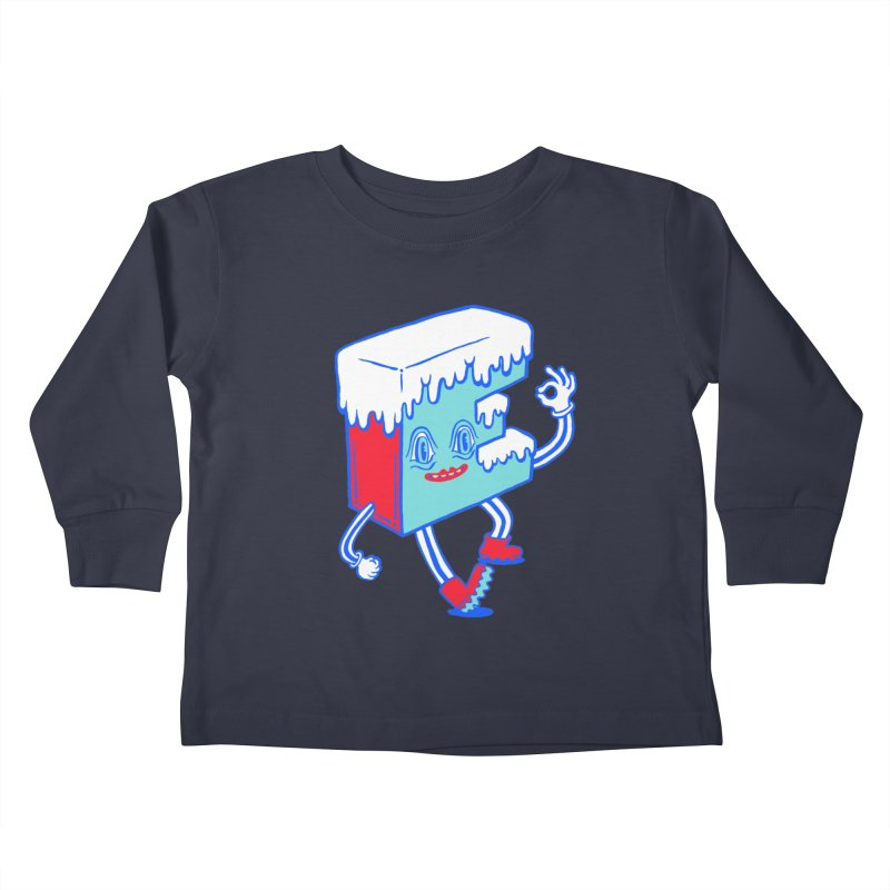 Ice E Kids Toddler Longsleeve T-Shirt by Tripper Dungan's Artist Shop