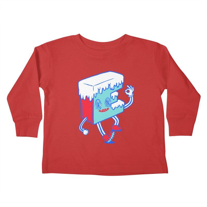 Ice E Kids Toddler Longsleeve T-Shirt by Tripperdungan's Artist Shop