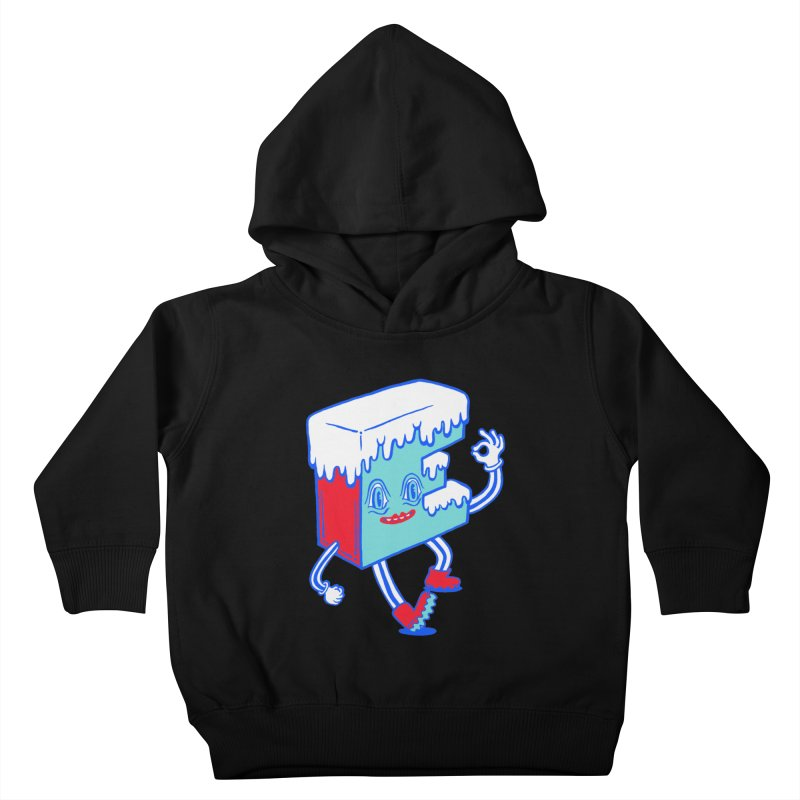 Ice E Kids Toddler Pullover Hoody by Tripper Dungan's Artist Shop