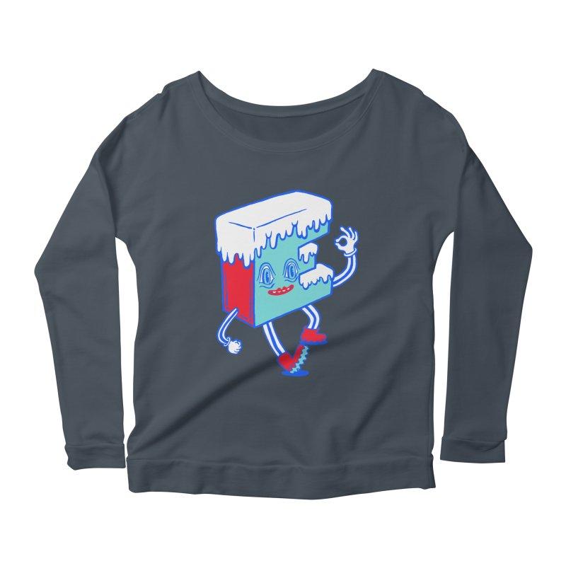 Ice E Women's Scoop Neck Longsleeve T-Shirt by Tripper Dungan's Artist Shop