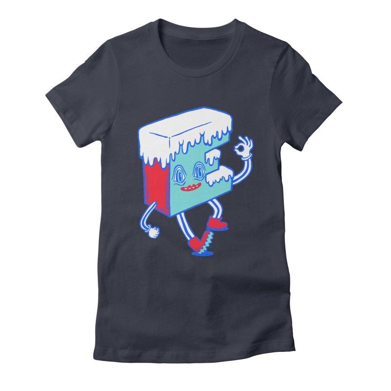 Ice E Women's Fitted T-Shirt by Tripperdungan's Artist Shop