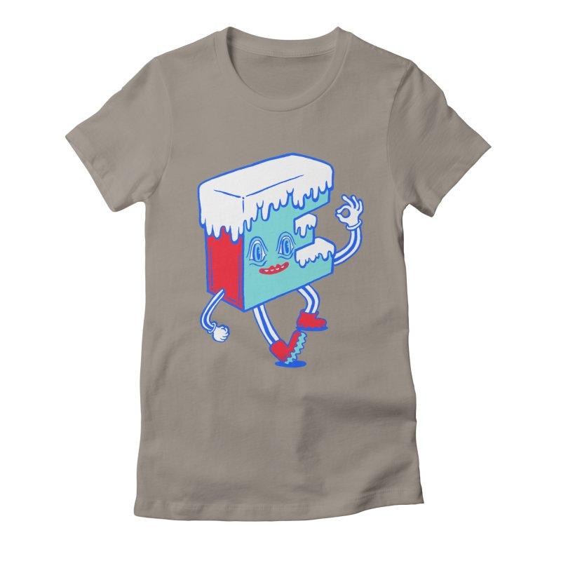 Ice E Women's Fitted T-Shirt by Tripper Dungan's Artist Shop