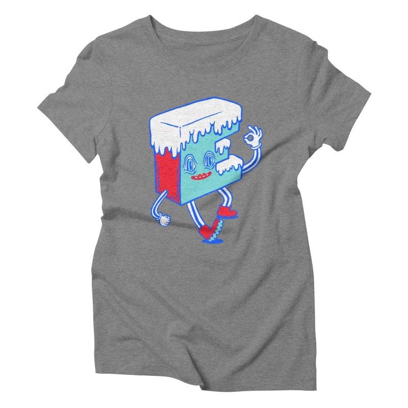Ice E Women's Triblend T-Shirt by Tripper Dungan's Artist Shop