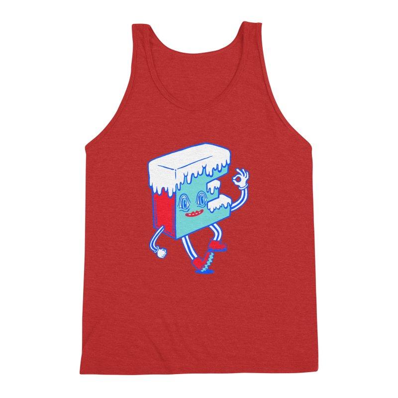 Ice E Men's Triblend Tank by Tripper Dungan's Artist Shop