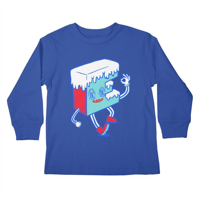 Ice E Kids Longsleeve T-Shirt by Tripper Dungan's Artist Shop