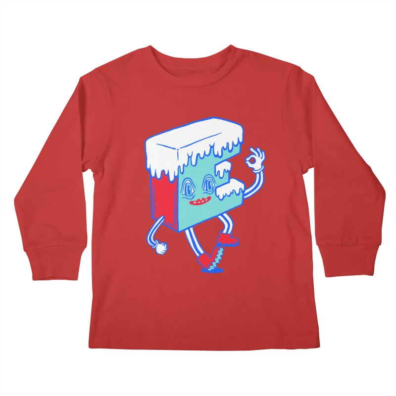Ice E Kids Longsleeve T-Shirt by Tripper Dungan's Artist Shop