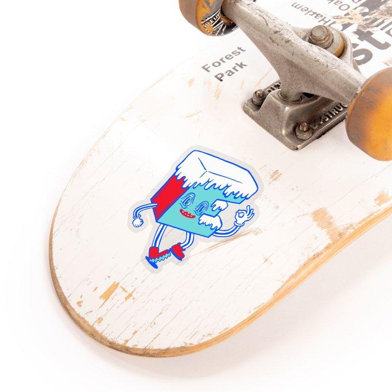 Ice E Accessories Sticker by Tripper Dungan's Artist Shop