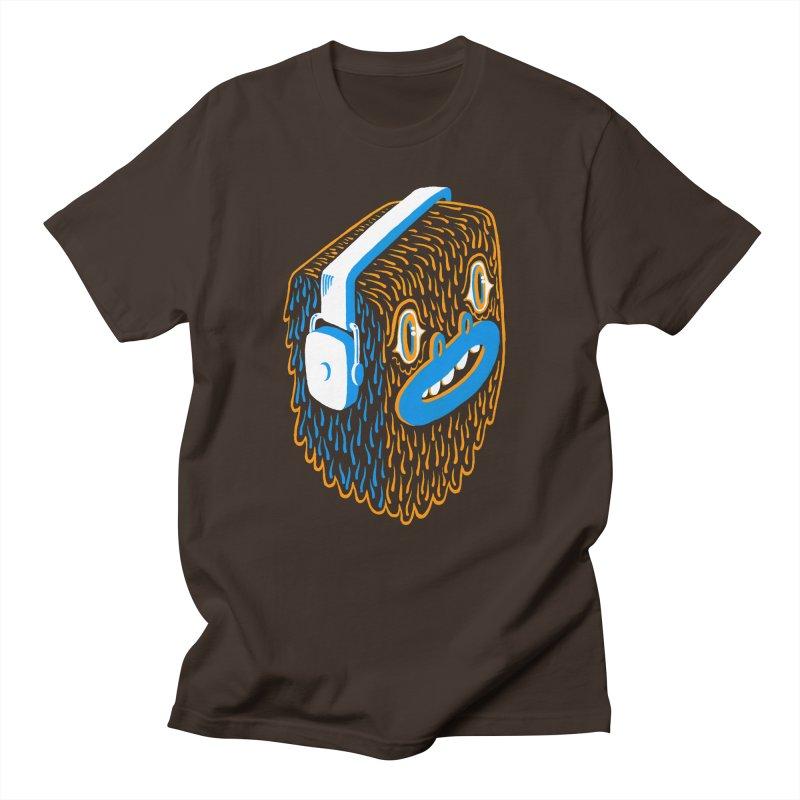 Bigfoot Men's T-Shirt by Tripper Dungan's Artist Shop