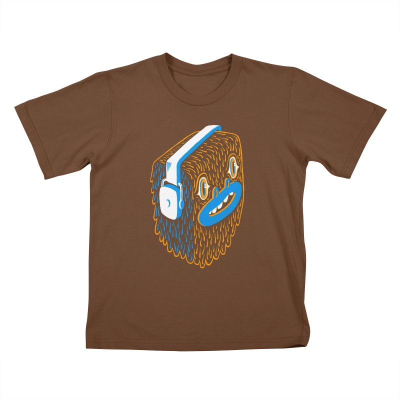 Bigfoot Kids T-Shirt by Tripper Dungan's Artist Shop