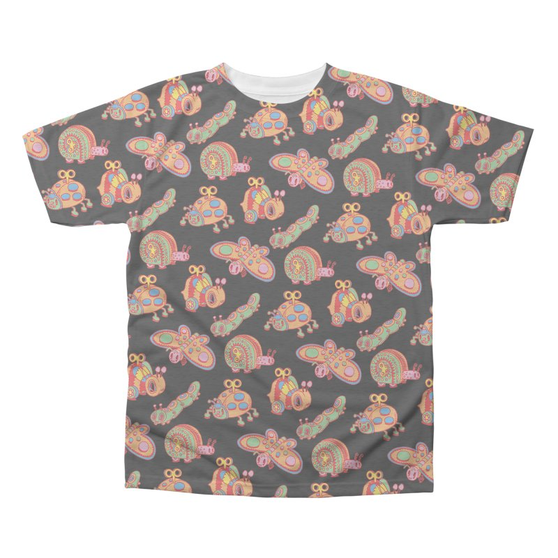 Toy Bugs Men's Triblend All Over Print by Tripperdungan's Artist Shop