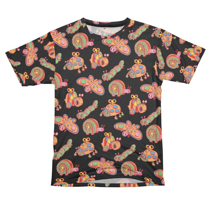 Toy Bugs Men's French Terry T-Shirt Cut & Sew by Tripper Dungan's Artist Shop
