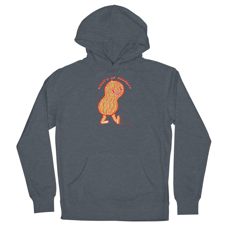 What's Up Peanut? Women's French Terry Pullover Hoody by Tripper Dungan's Artist Shop