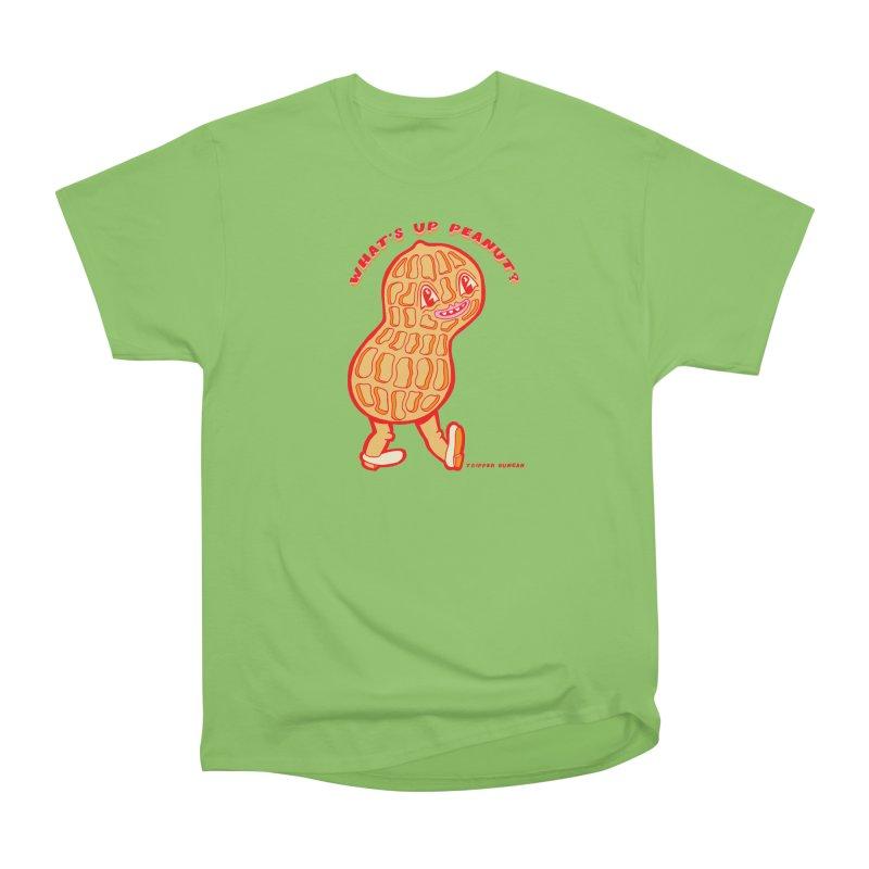 What's Up Peanut? Women's Heavyweight Unisex T-Shirt by Tripperdungan's Artist Shop