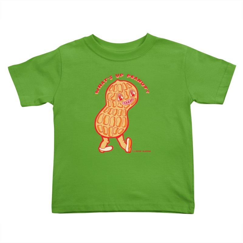 What's Up Peanut? Kids Toddler T-Shirt by Tripper Dungan's Artist Shop