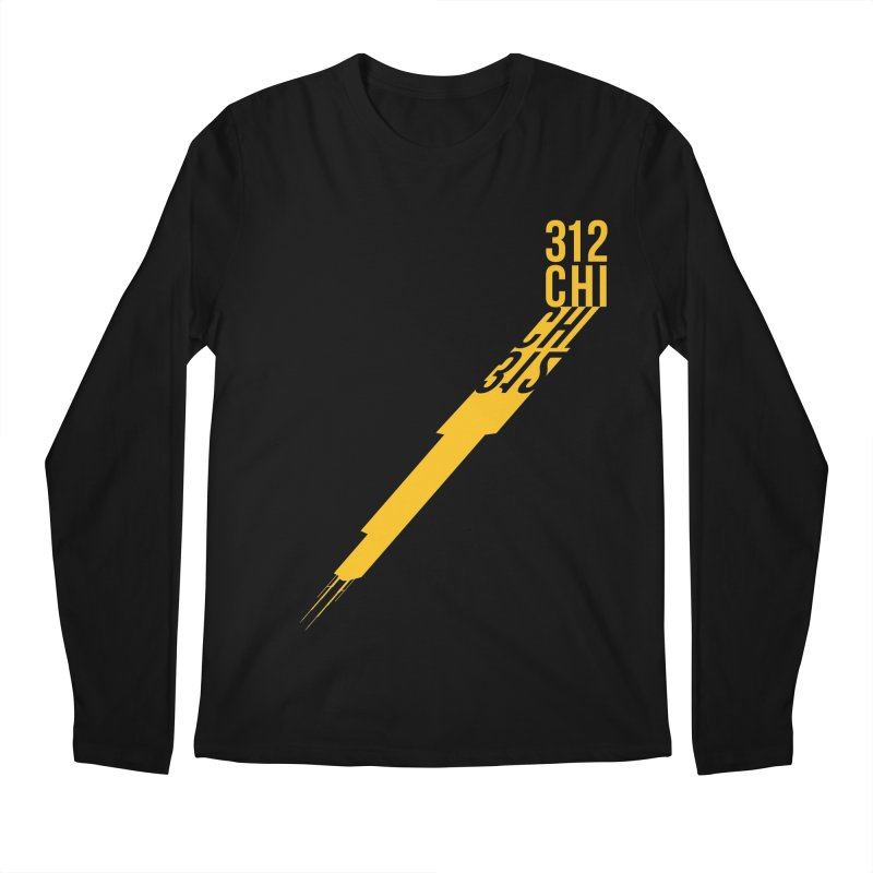 312CHI Men's Regular Longsleeve T-Shirt by Tristan Young