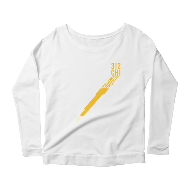 312CHI Women's Longsleeve Scoopneck  by Tristan Young