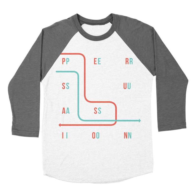 Persuasion Men's Baseball Triblend T-Shirt by Tristan Young