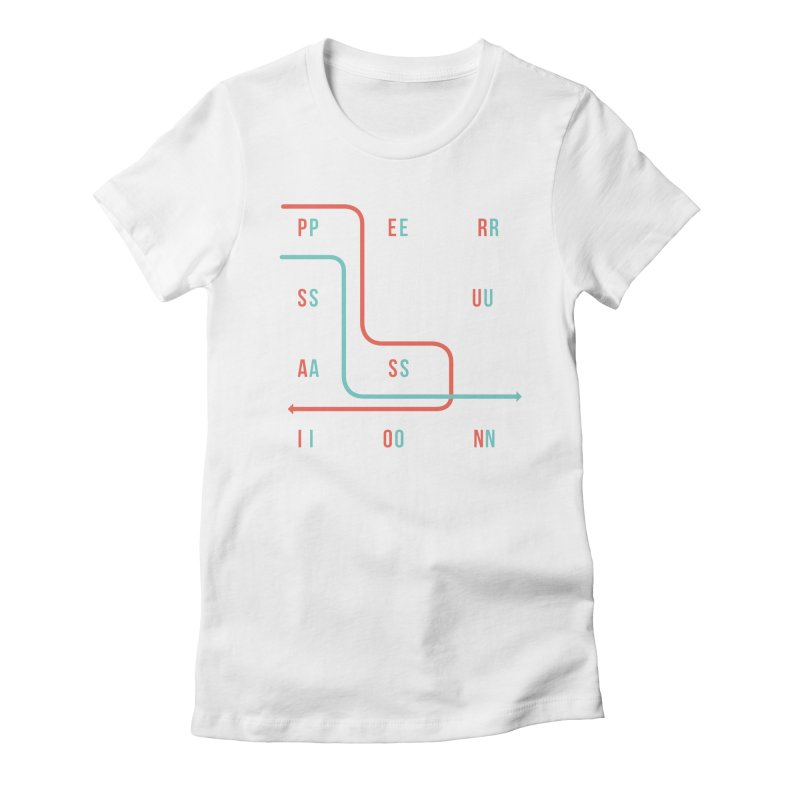 Persuasion Women's Fitted T-Shirt by Tristan Young