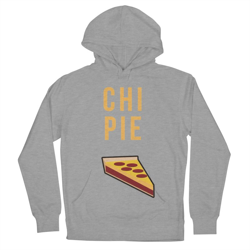 CHI PIE Men's French Terry Pullover Hoody by Tristan Young